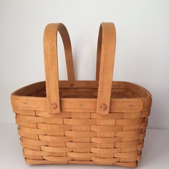 Vintage Longaberger Classic Spring Basket